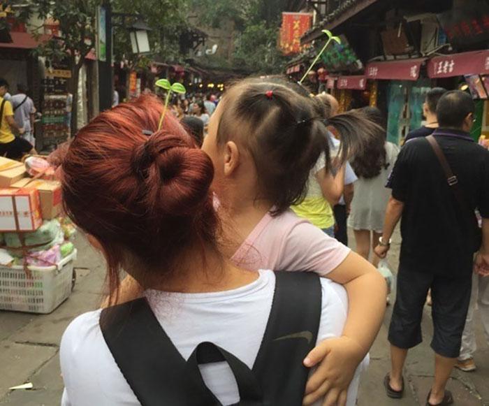 中国ではやっているヘアピン2