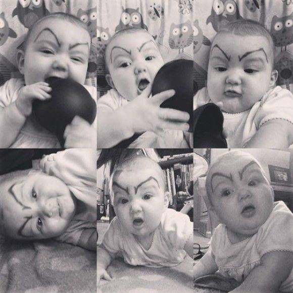 笑える赤ちゃん7
