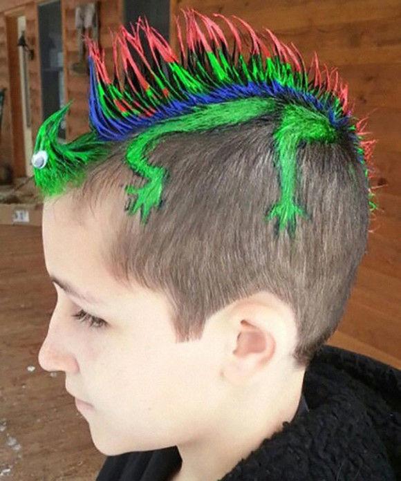 凄い髪型特集15
