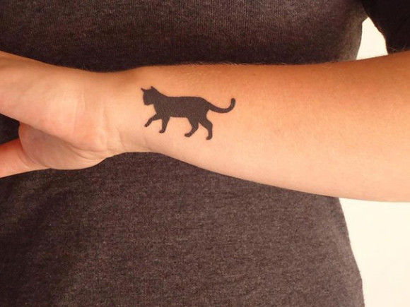 ネコの刺青が大人気9