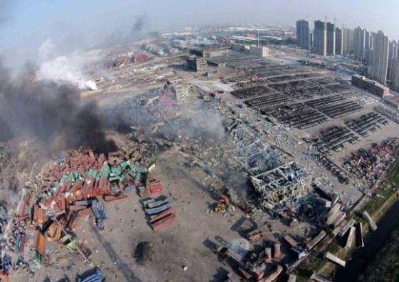 天津爆発画像27