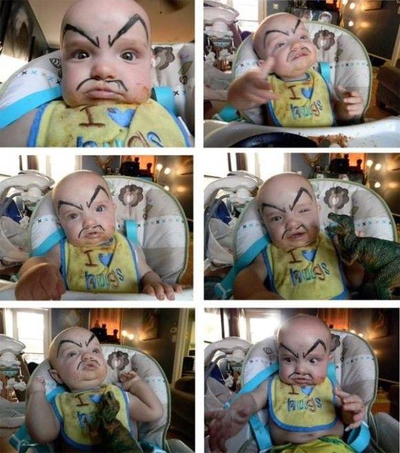 笑える赤ちゃん2