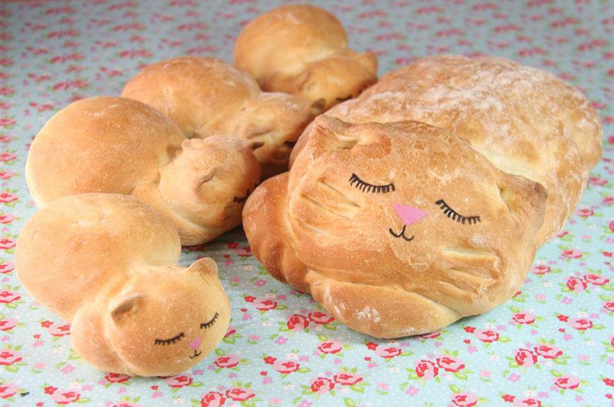 ネコのパン2