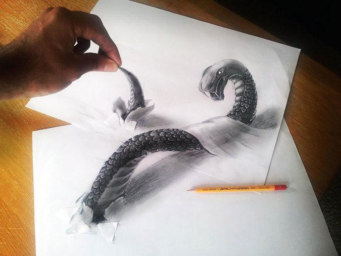 凄すぎる3Dアート17