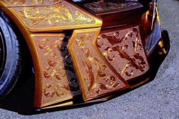 黄金手彫りカーが出来るまで18