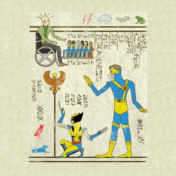 古代の壁画アニメ11