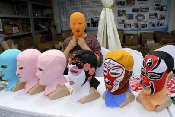 中国の奇妙な海のファッション1