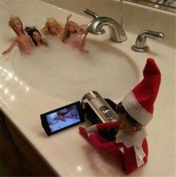 人形たちの爆笑クリスマス9