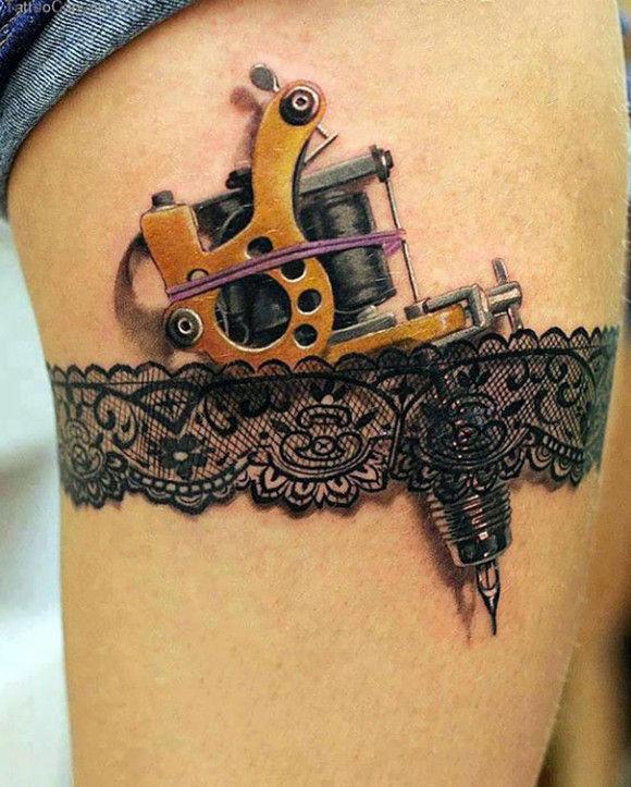 海外の3Dタトゥーが凄い18