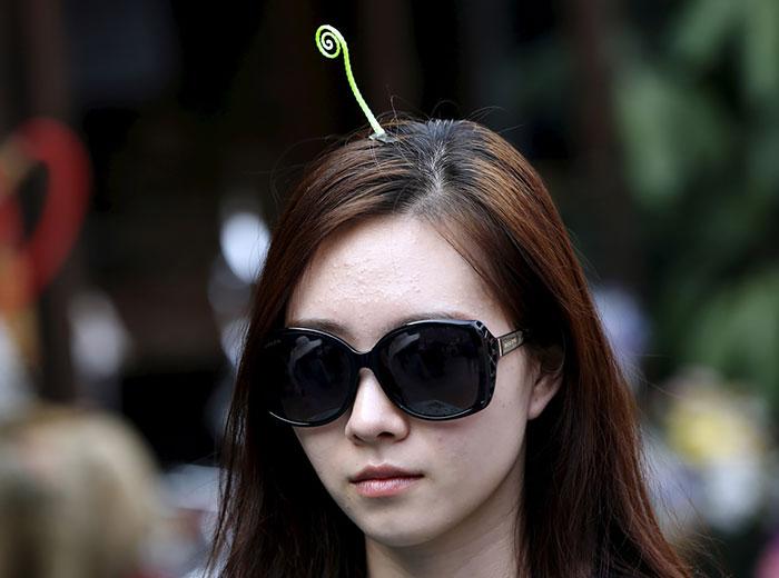 中国ではやっているヘアピン11