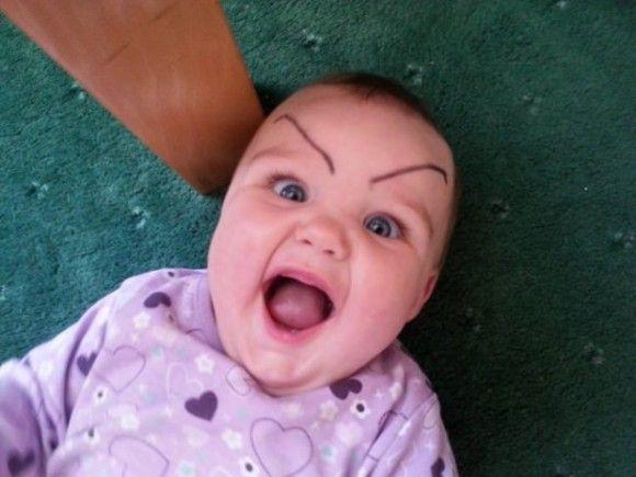 笑える赤ちゃん5