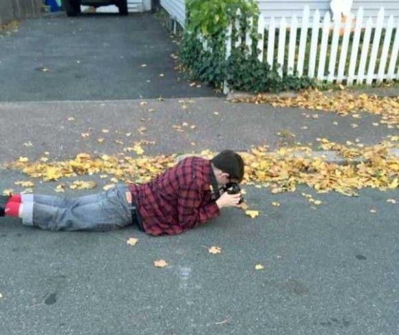 カメラマンの姿11