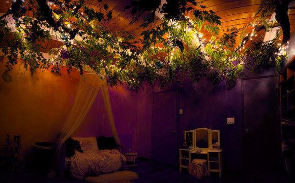 娘の為に作った妖精の樹の部屋10