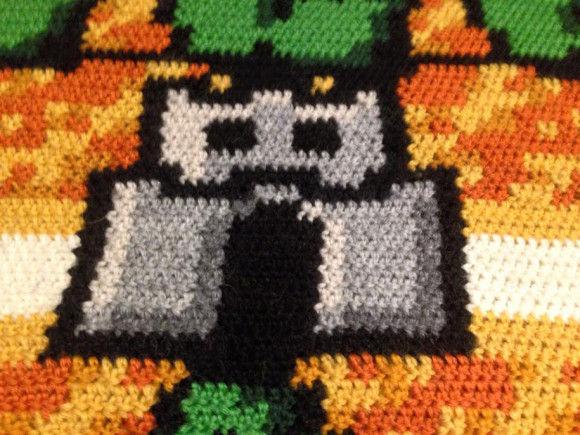 編み物スーパーマリオ9