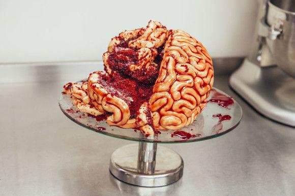 脳みそケーキの作り方6