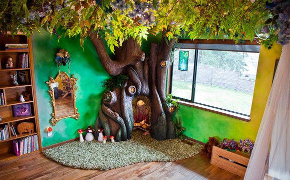 娘の為に作った妖精の樹の部屋1