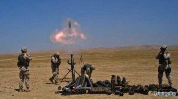 ミサイルの発射