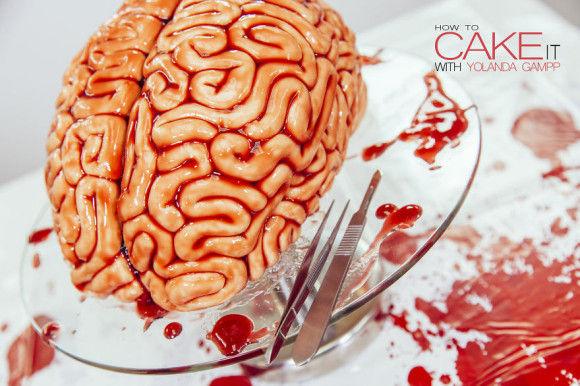 脳みそケーキの作り方5