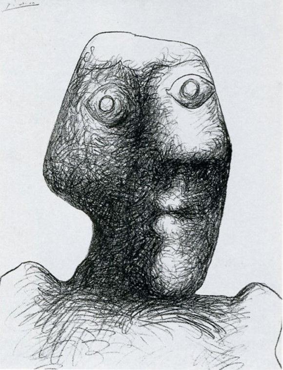 ピカソの自画像14