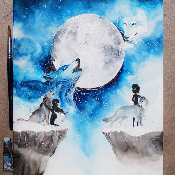 水彩画19