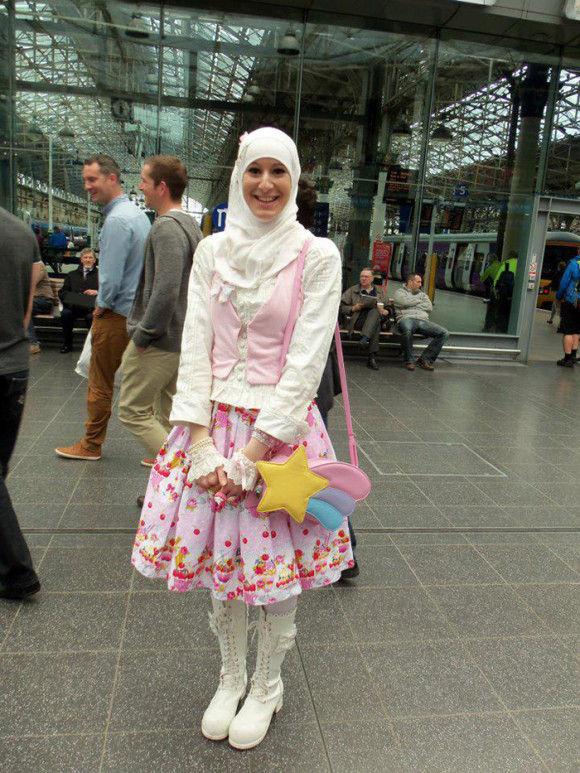 イスラム教徒のロリータファッション9