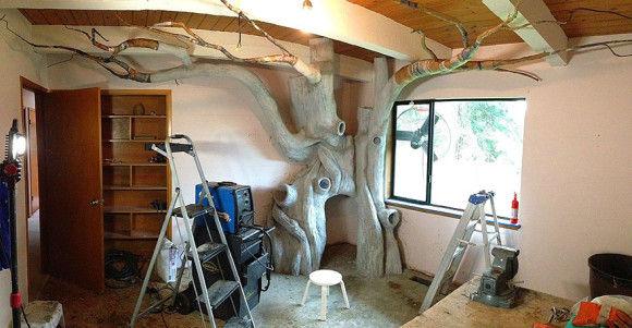 娘の為に作った妖精の樹の部屋8