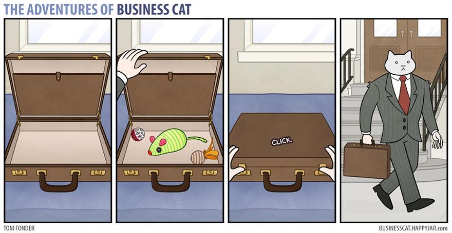 ネコが上司だったら18