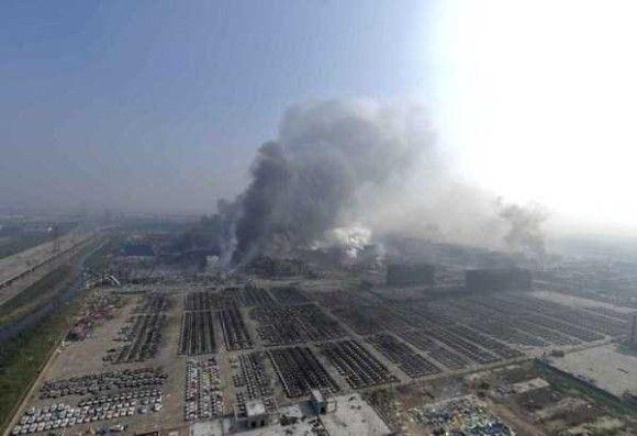 天津爆発画像28