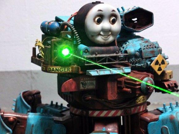 機関車トーマス改造される3