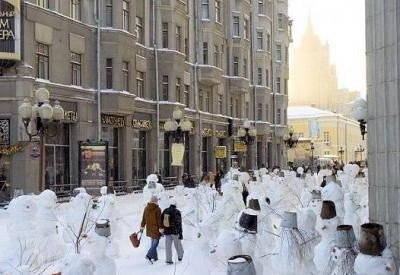 恐ろしすぎる雪だるま11