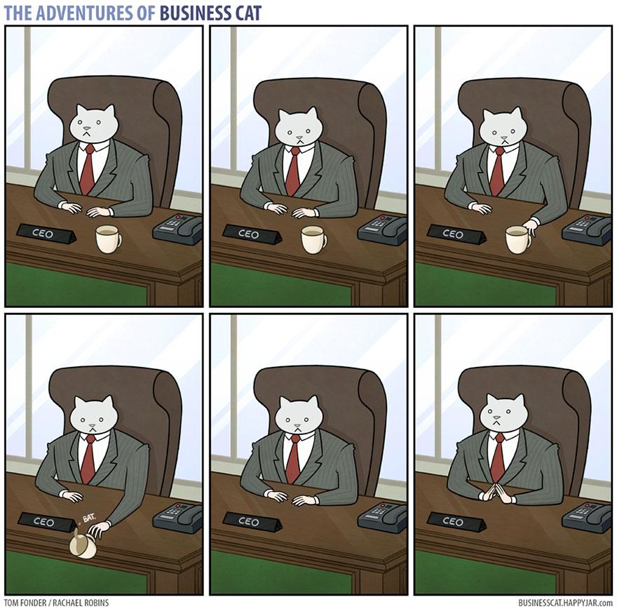 ネコが上司だったら2