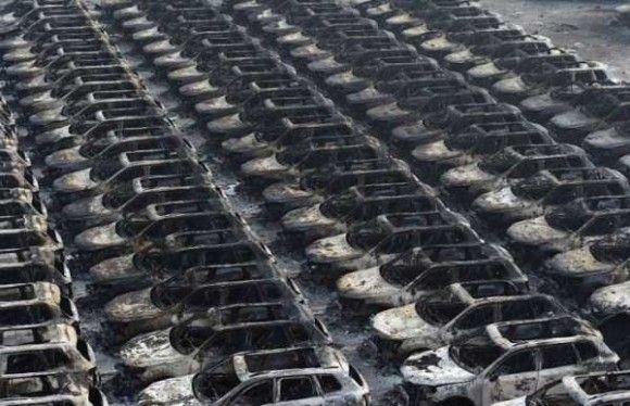 天津爆発画像36
