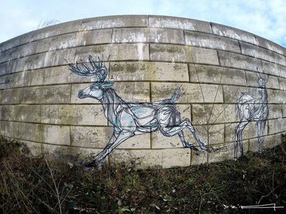 街の落書き-芸術-10