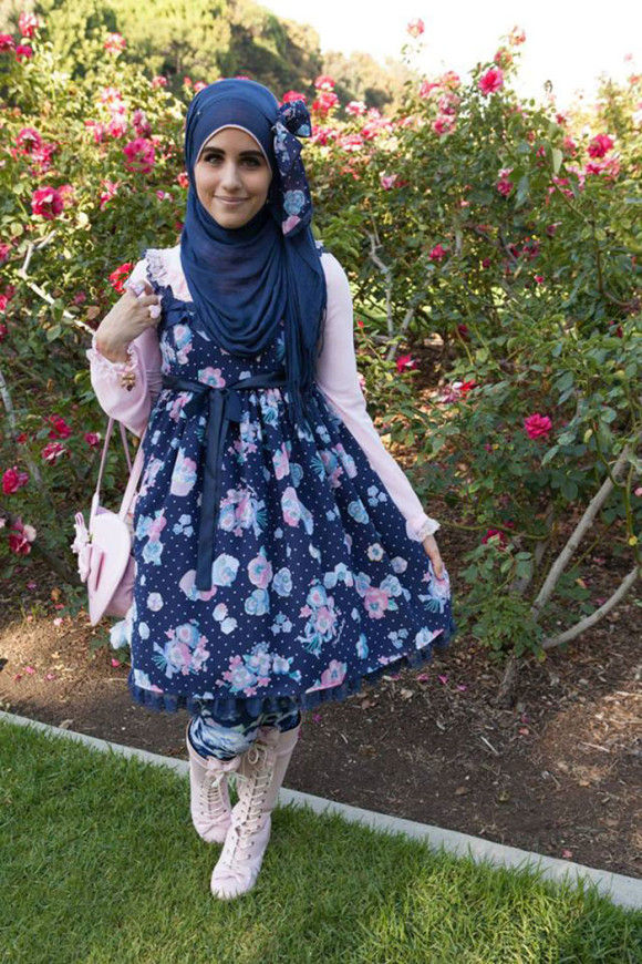 イスラム教徒のロリータファッション6