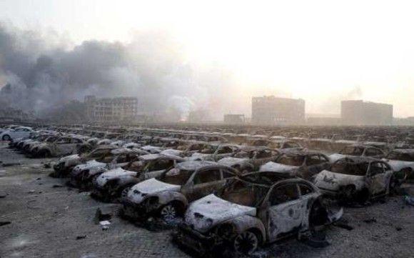 天津爆発画像40