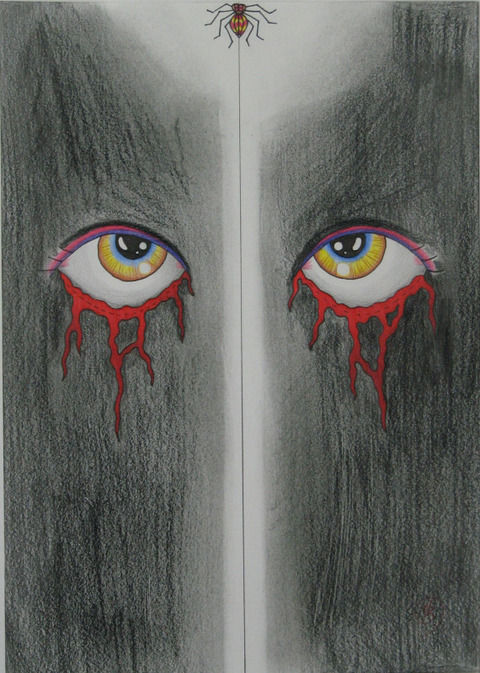 死刑囚が描いた絵2