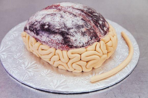 脳みそケーキの作り方3