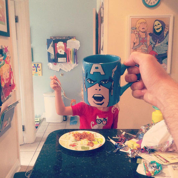 マグカップでスーパーヒーローに変身?!11