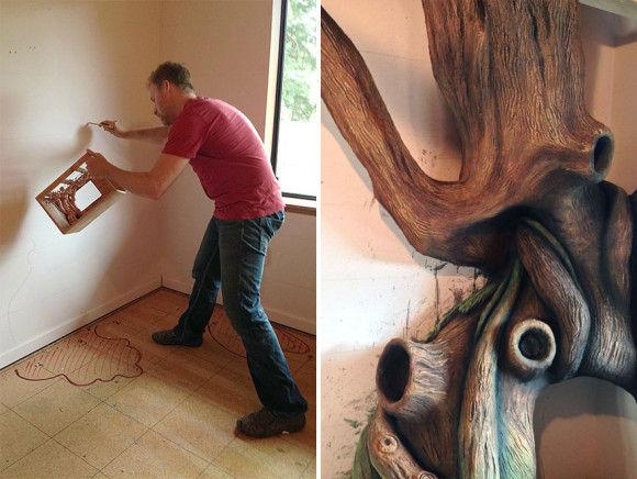娘の為に作った妖精の樹の部屋4