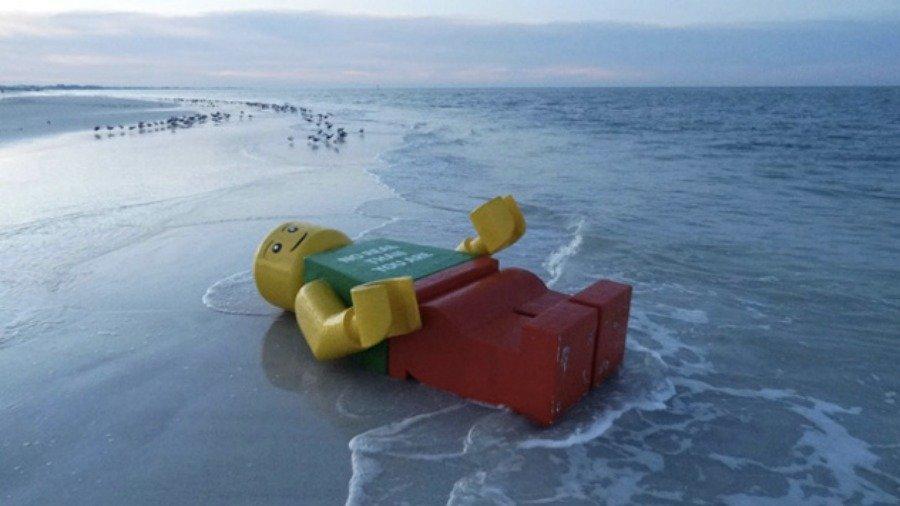 海岸へ流れ着いた物6