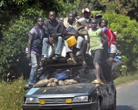 アフリカの日常光景25