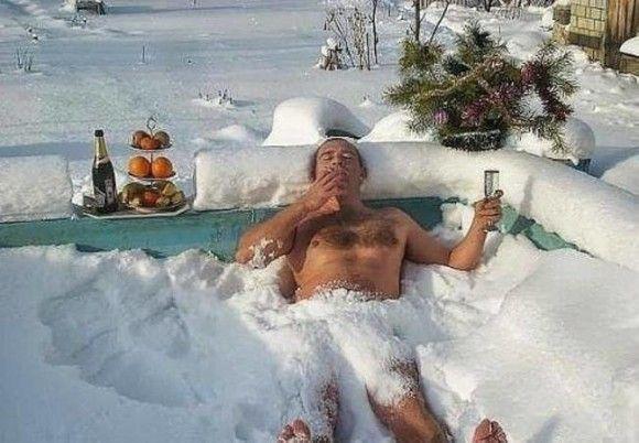 冬を満喫する人3