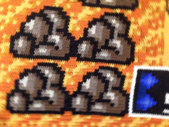 編み物スーパーマリオ5