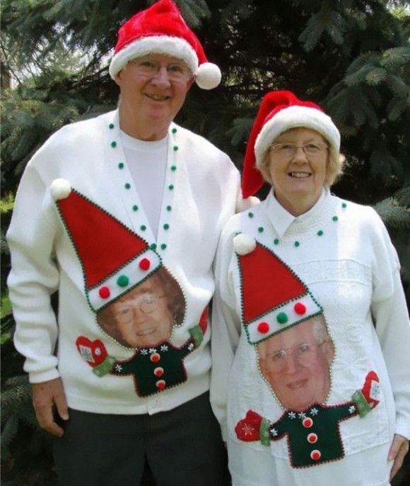 最高にダサいクリスマスセーター4