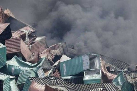 天津爆発画像6