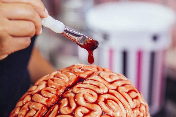 脳みそケーキの作り方4