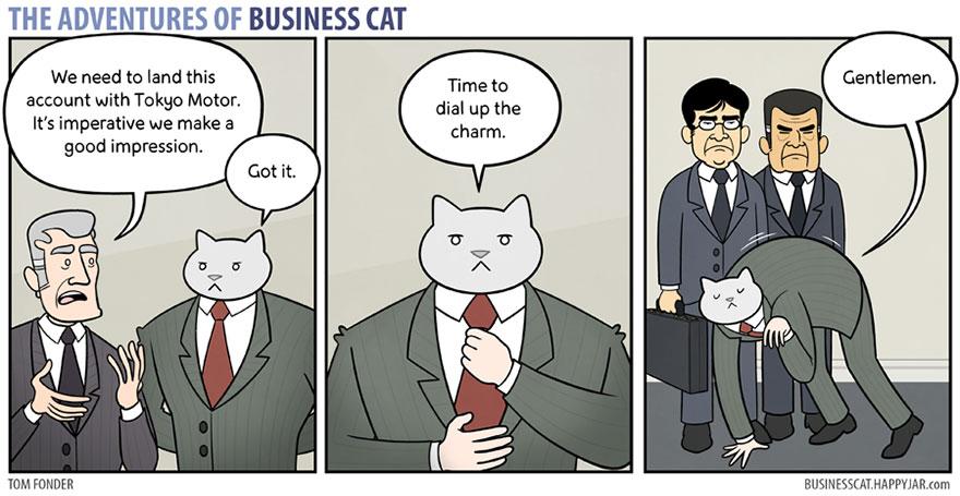 ネコが上司だったら13