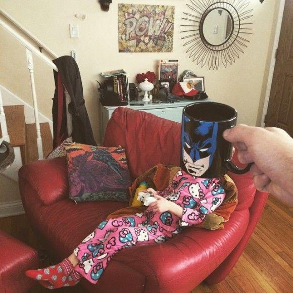 マグカップでスーパーヒーローに変身?!4