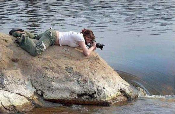 カメラマンの姿7