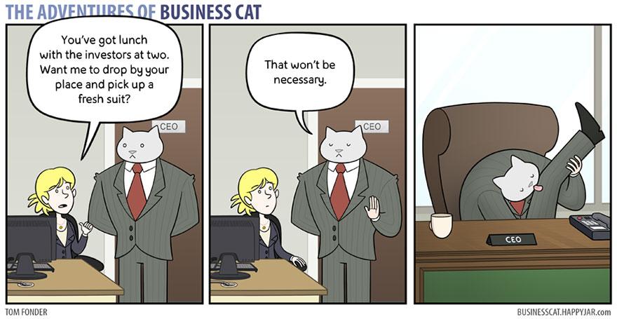 ネコが上司だったら10
